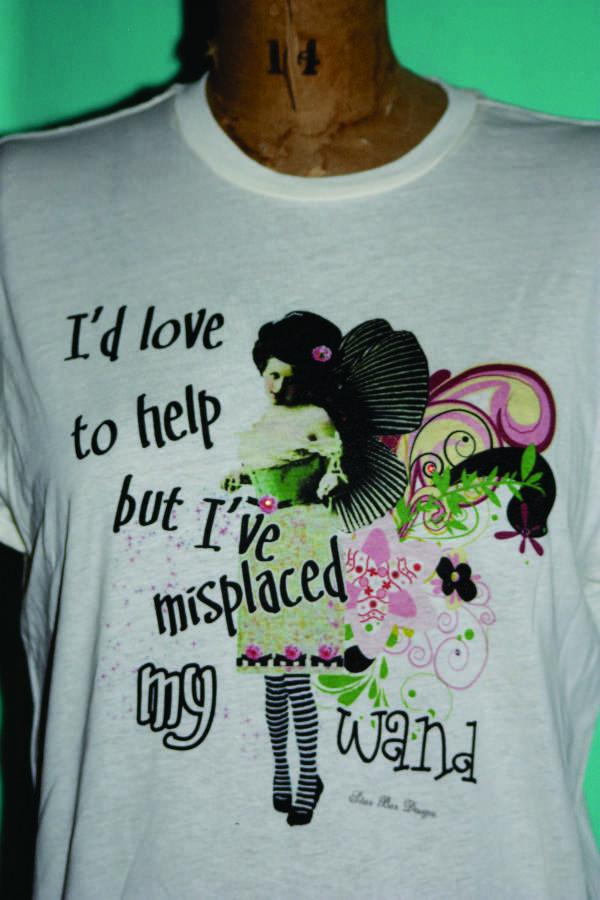 ladies tee shirt - I'd Love to Help